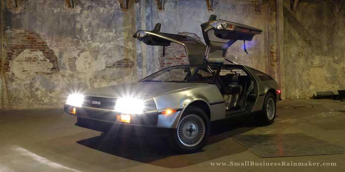 products dont sell themselves delorean
