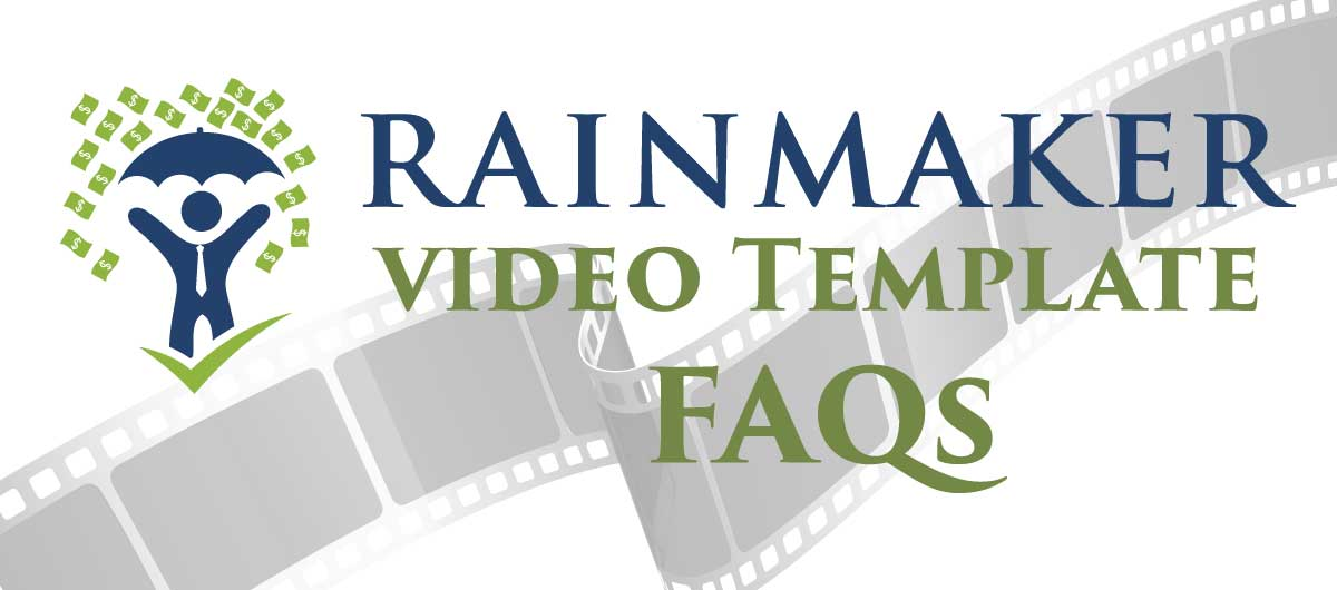 FAQ video templates for local small business