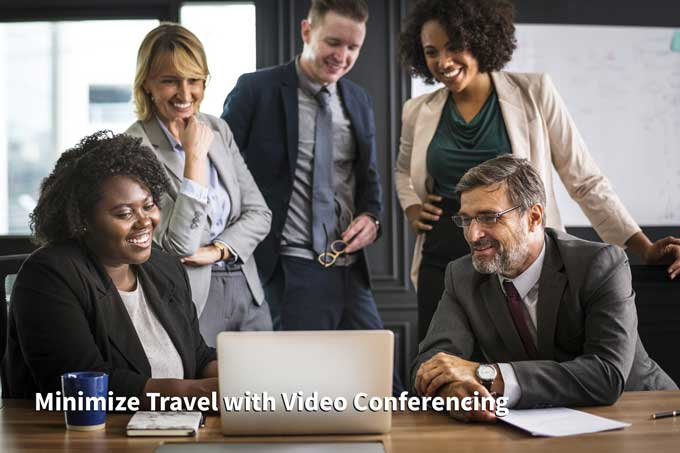 reduce business travel costs with video conferencing