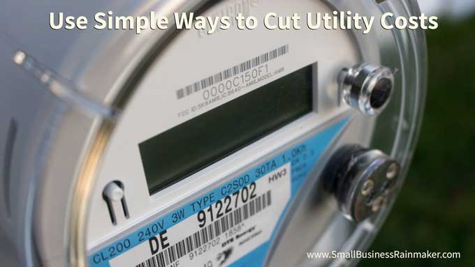 reduce utility use to save business money in summer
