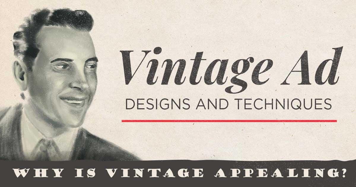 retro ad design visual marketing