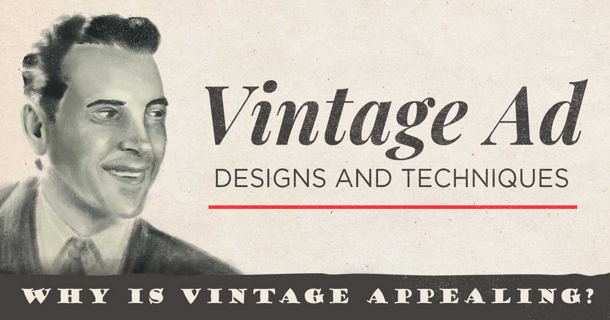 retro ad design visual marketing