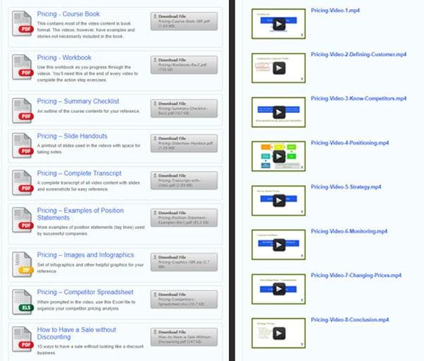 screenshot profitable pricing methods