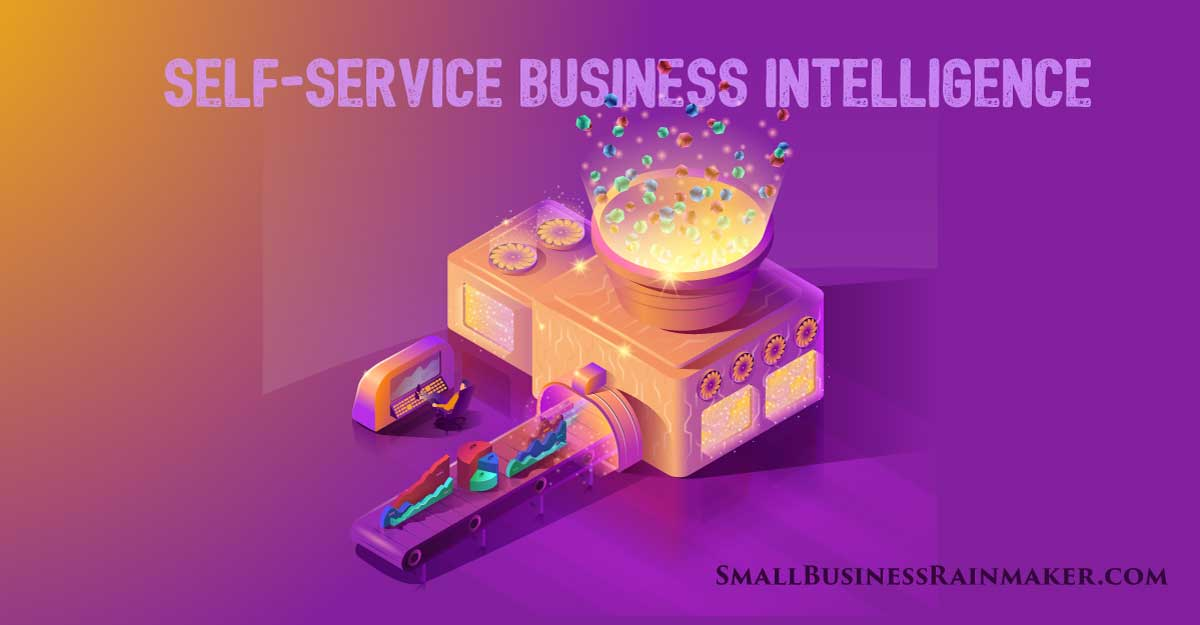 self service business intelligence small business