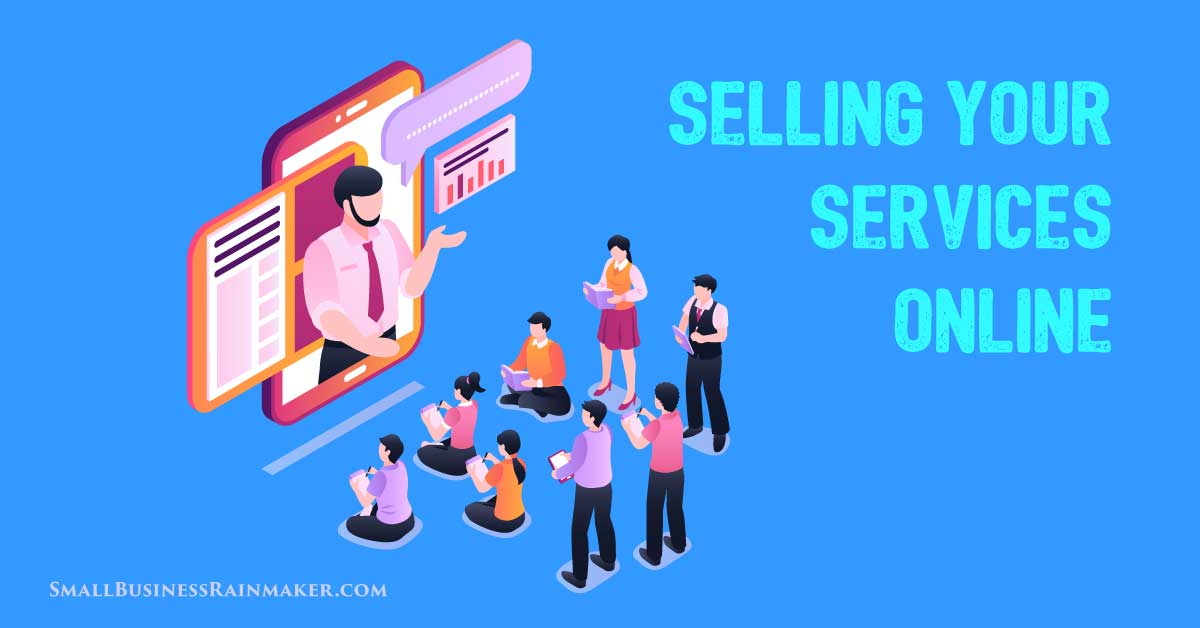 sell online services and digital courses