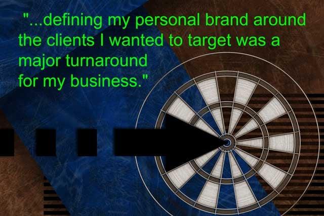 define personal brand Meg Guiseppi quote
