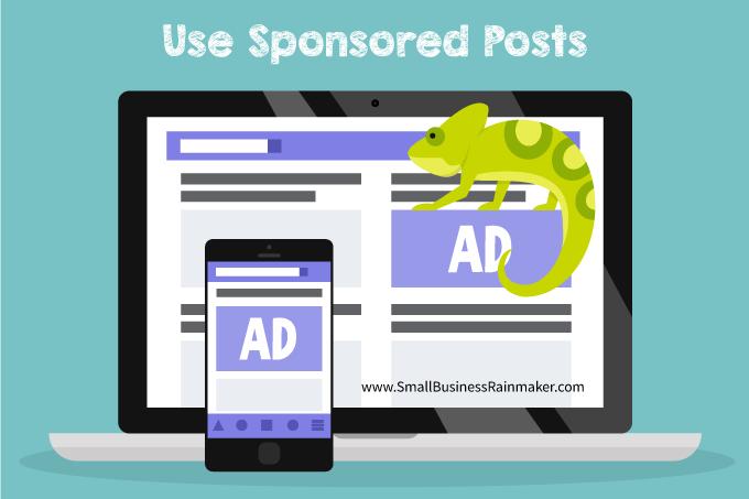 sponsored posts get more B2B content views