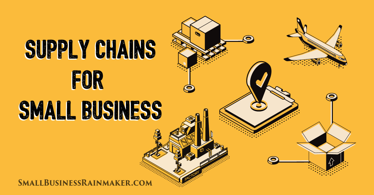supply chain management small business