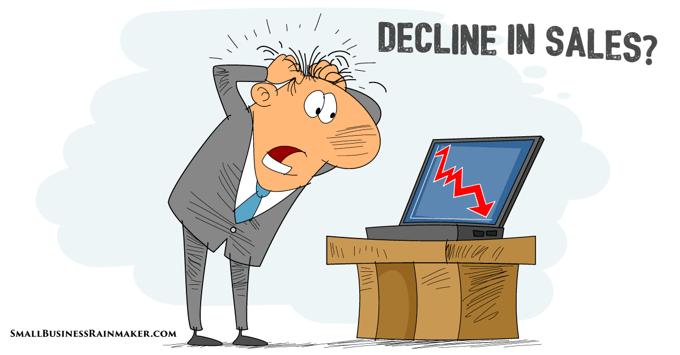 things that explain decline in sales