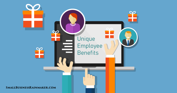 unique small business employee benefits