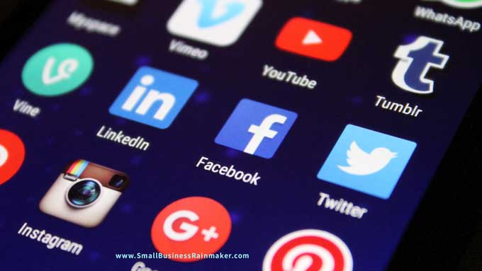 use correct social channels for more B2B content response