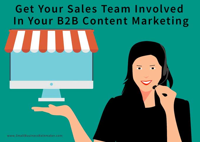 use direct outreach and telemarketing for B2B content