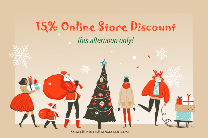 use festive landing pages holiday ecommerce