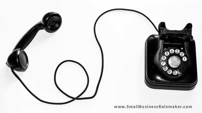 use telephone to improve customer service
