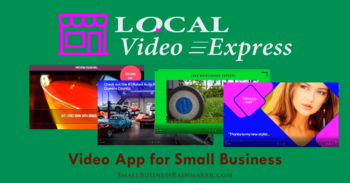 video for local business local video express