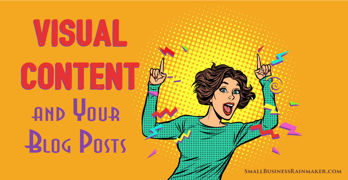 visual content that will upgrade blog posts