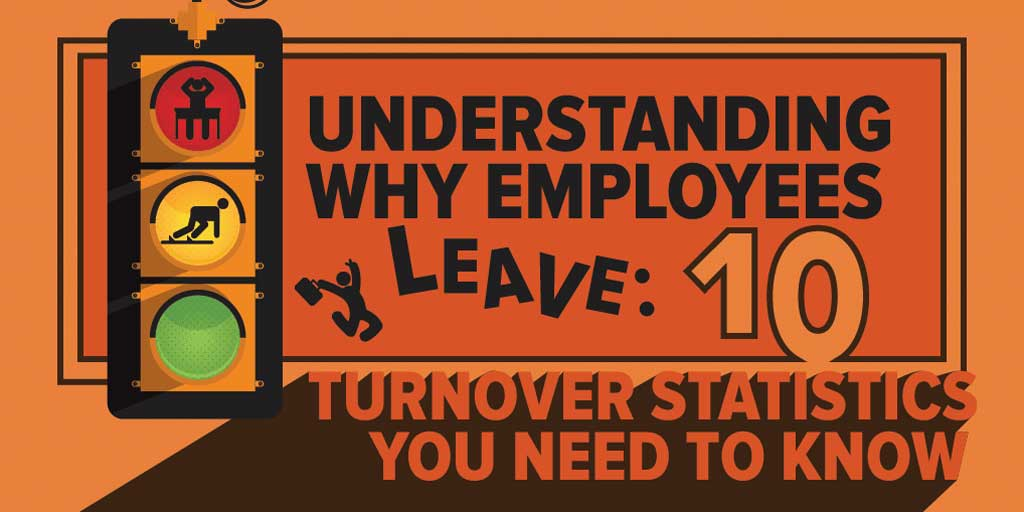 why employees leave turnover statistics