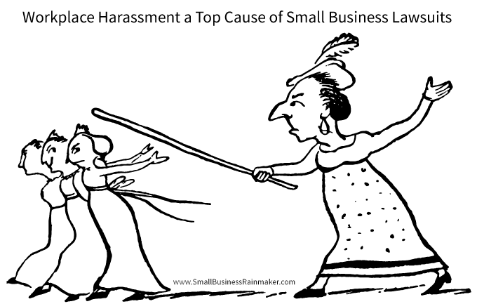 workplace harassment cause of small business lawsuits
