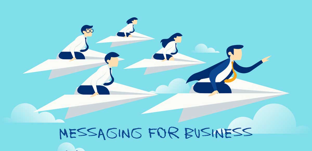 The Benefits of Instant Messaging Apps for Business (Infographic)