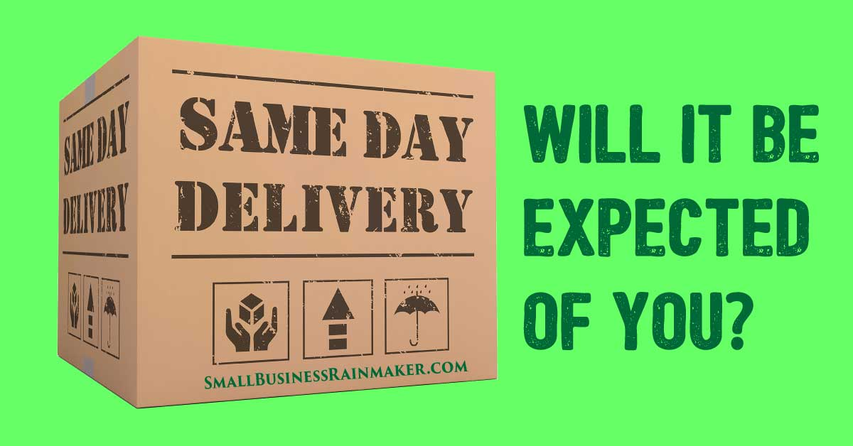 Same Day Delivery for Almost Everything – Is it Possible?