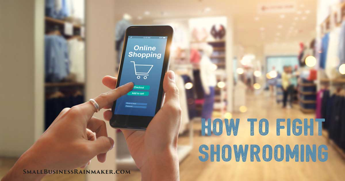 How to Prevent Customers Using Your Store as a Showroom