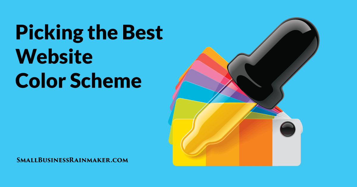 How to Pick the Best Website Color Scheme for Your Business
