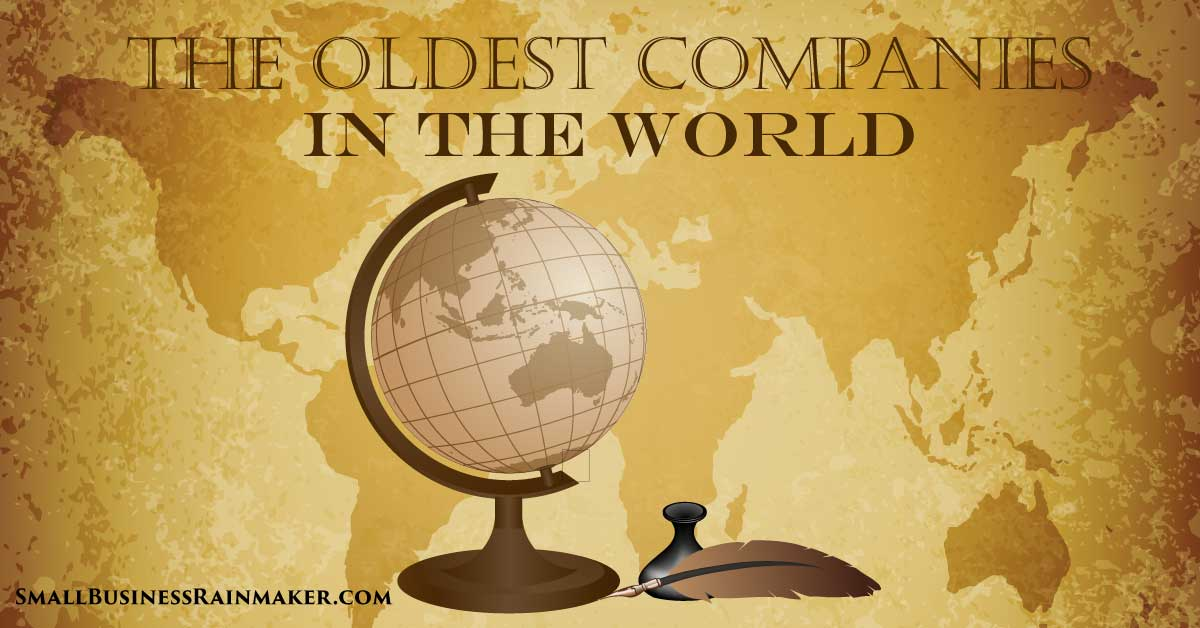 The Oldest Companies in the World [Infographic]